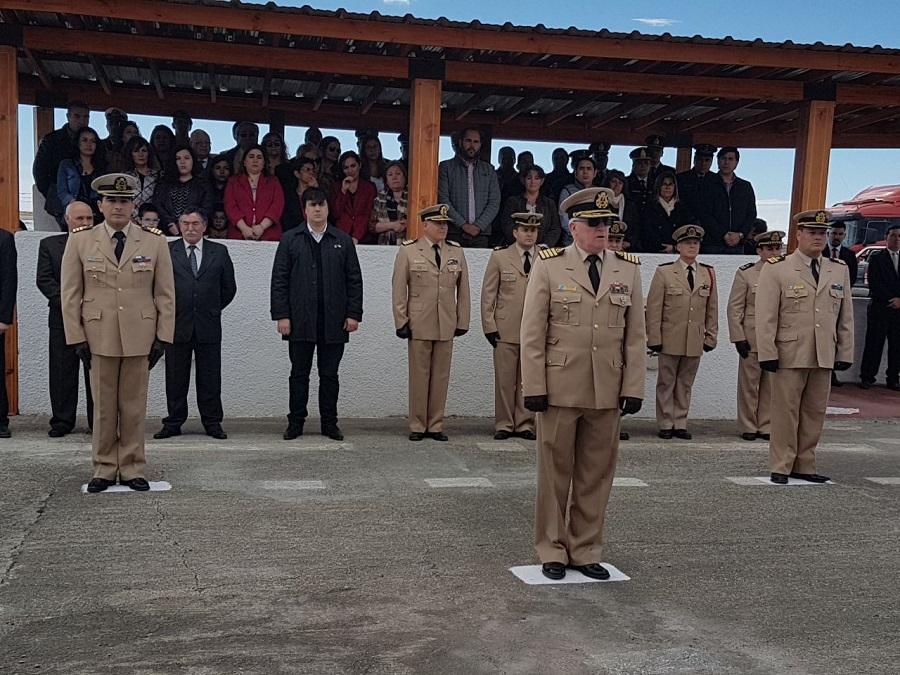 Nogar participó de la ceremonia de cambio de mando de autoridades
