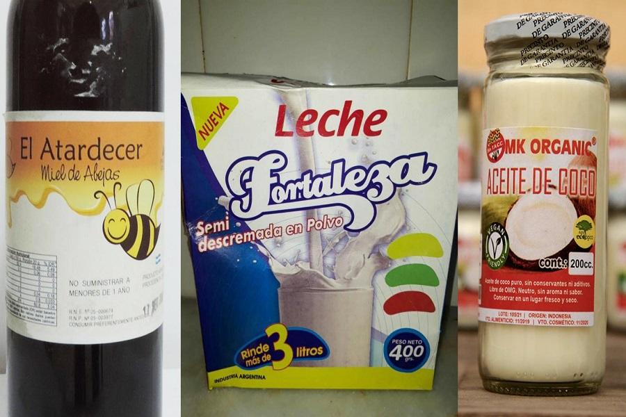 La ANMAT prohibió la venta de una serie de productos alimenticios