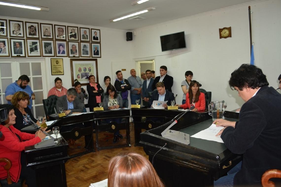 Sesión Preparatoria: Nogar fue ratificado como Presidente del Concejo Deliberante