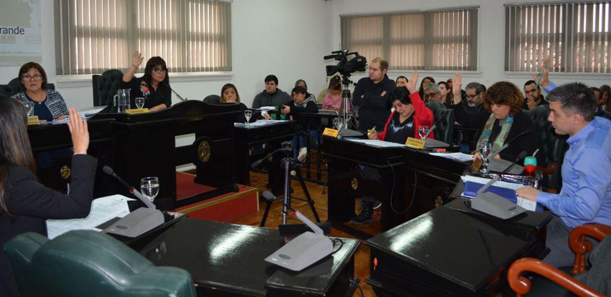 V sesión Ordinaria en el Concejo Deliberante de Río Grande