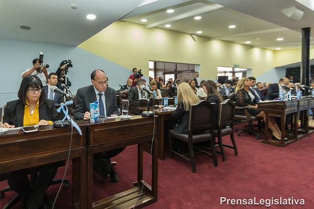 Legislatura: Parlamentarios llevaron adelante la primera sesión de 2018