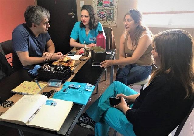 """Paulino Rossi destacó el rol de la empresa de mujeres """"Nuevo Horizonte"""""""