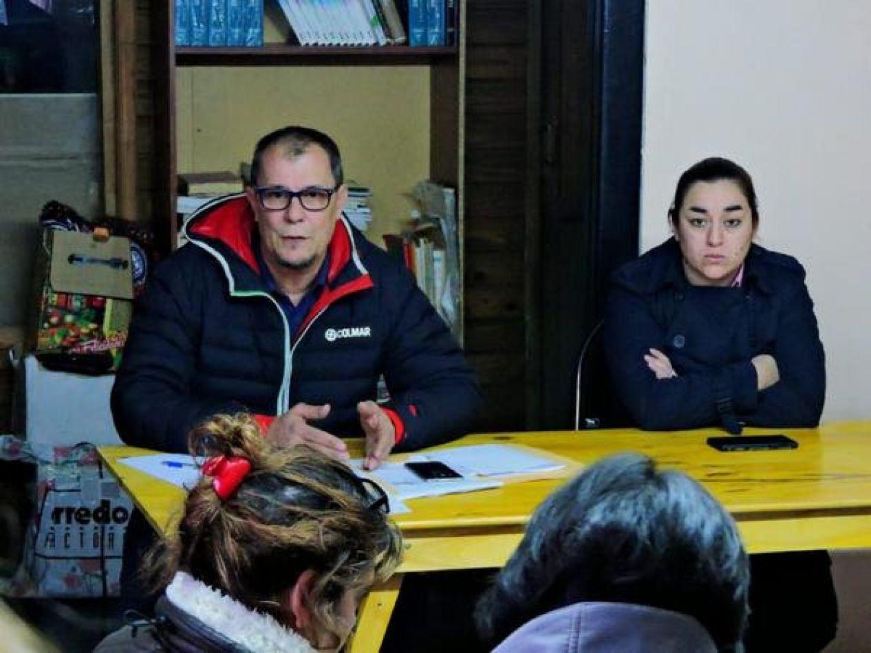 Autoridades del Ministerio de Economía de la Provincia se reunieron con distintos referentes de diversos barrios de la Margen Sur