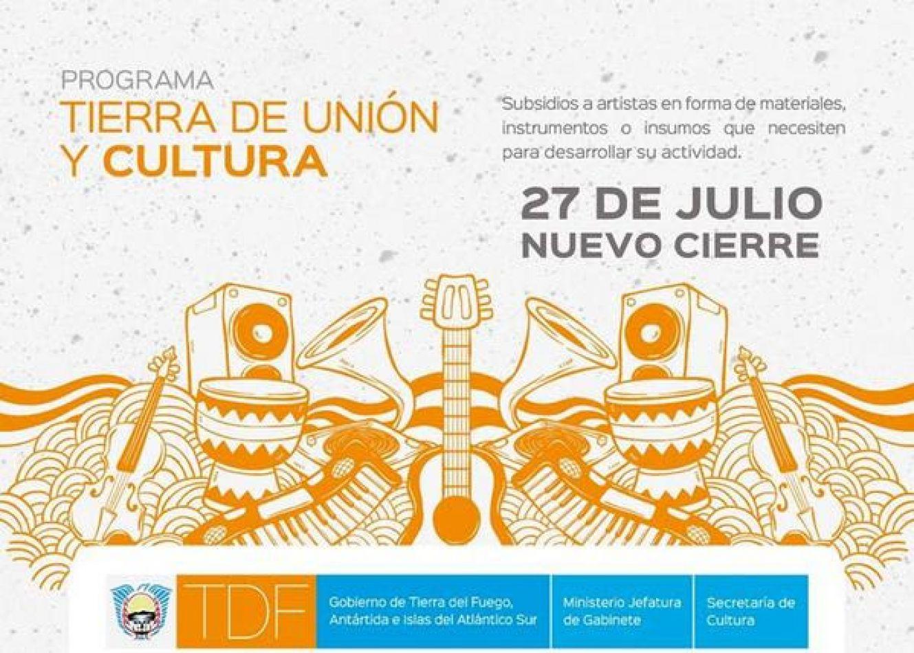 Programa Tierra de Unión y Cultura