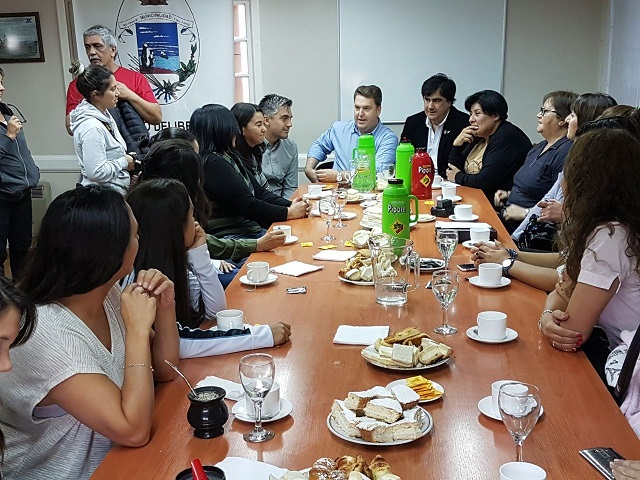 La concejal Mora agasajó con un desayuno a diferentes mujeres de la ciudad