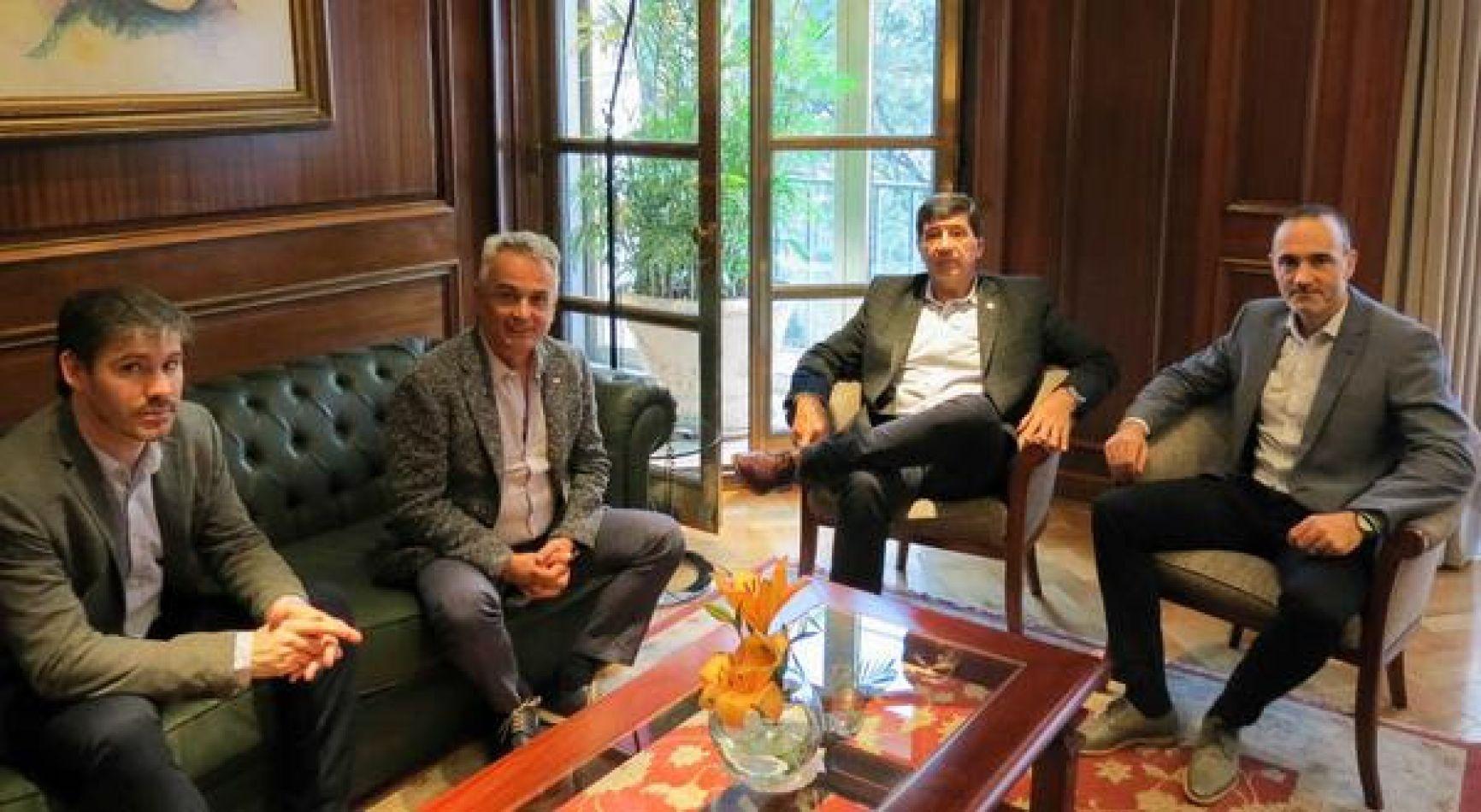 El ministro de Industria Ramiro Caballero se reunió  con el Presidente de la Confederación Argentina de la Mediana Empresa (CAME)