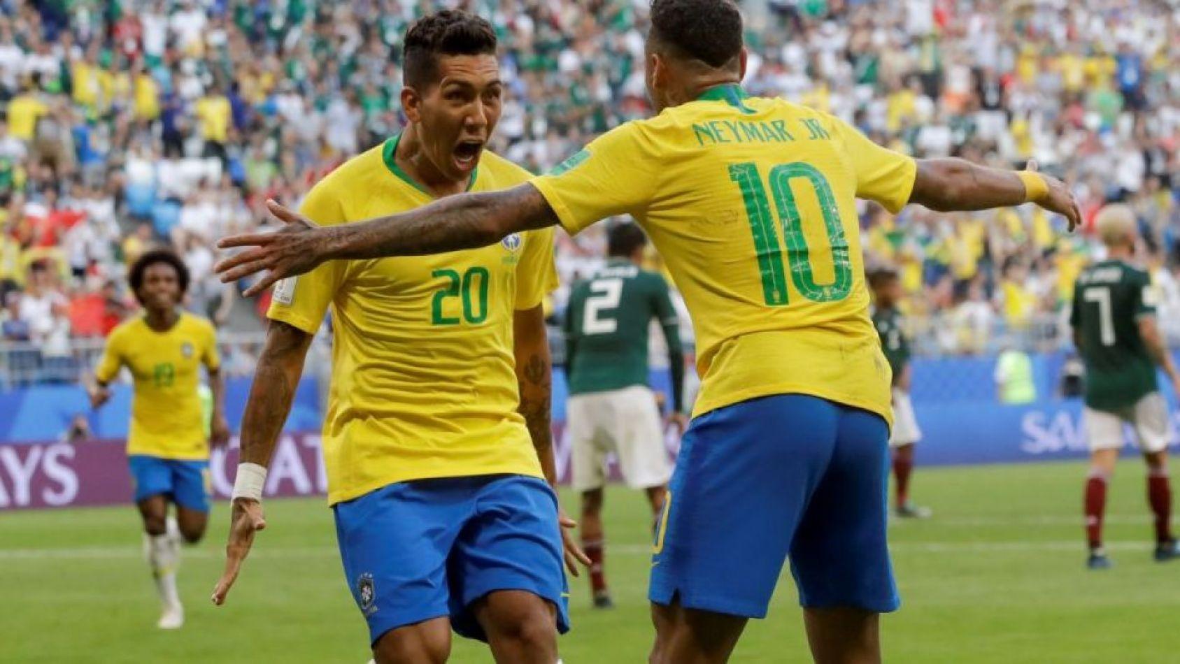 Brasil derrotó a México y está en cuartos de final