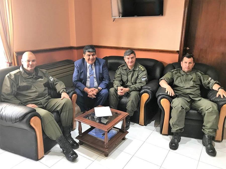 """Arcando: Buscamos afianzar la relación de la Gendarmería con la comunidad"""""""