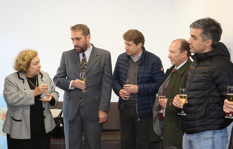 Rossi celebró la inauguración del edificio de la defensoría oficial federal