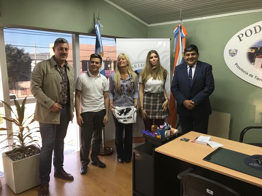 """Arcando recibió a los competidores del proyecto """"EMEI Camina en Malvinas"""""""