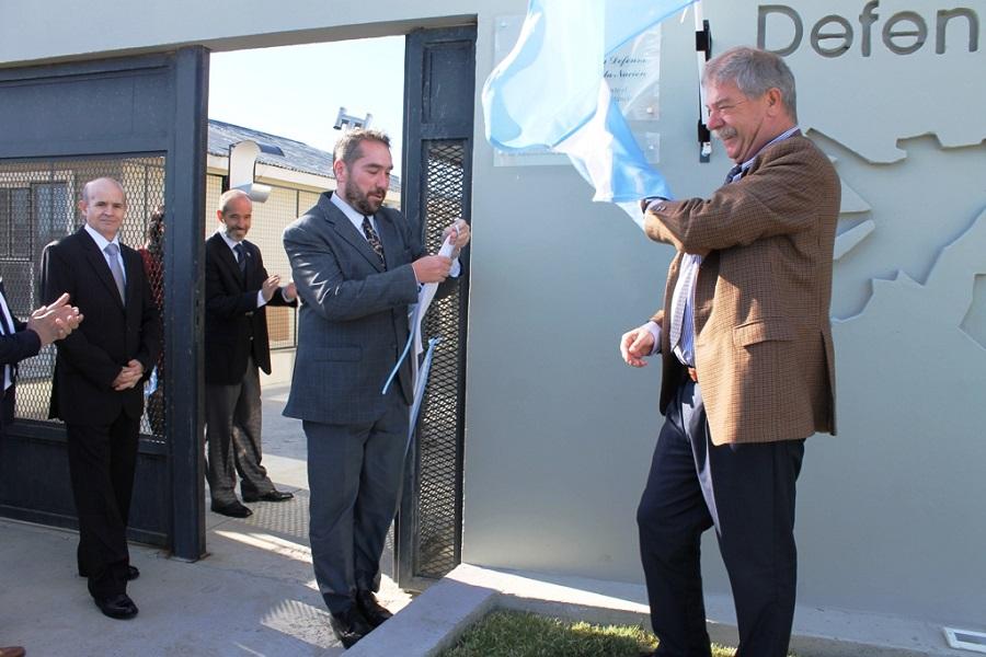 Magistrados participaron de la inauguración del edificio de la Defensoría Pública Federal