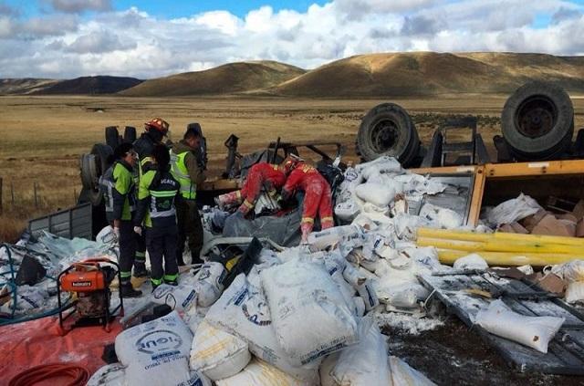 Cerro Sombrero: Camionero riograndense murió en la ruta 257
