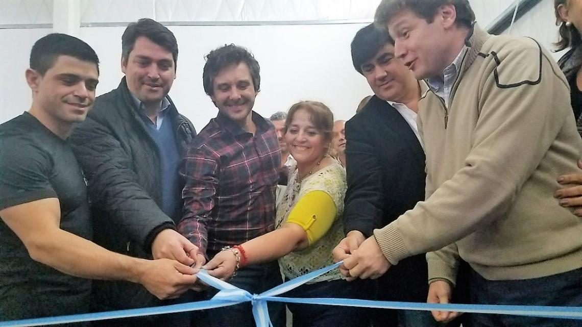 Quedó inaugurado el Centro Municipal de Gimnasia Artística