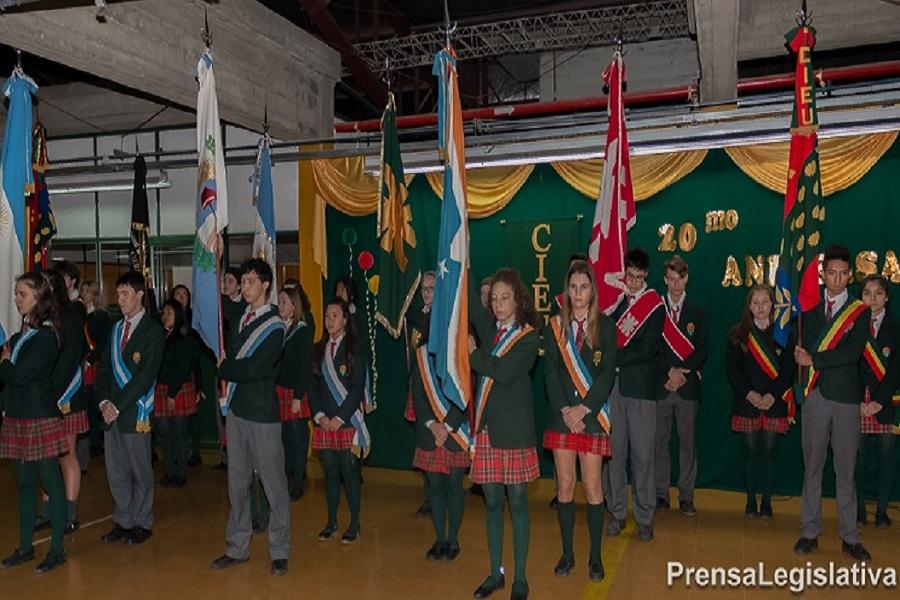 Acto en Ushuaia: El CIEU festejo su 20° aniversario