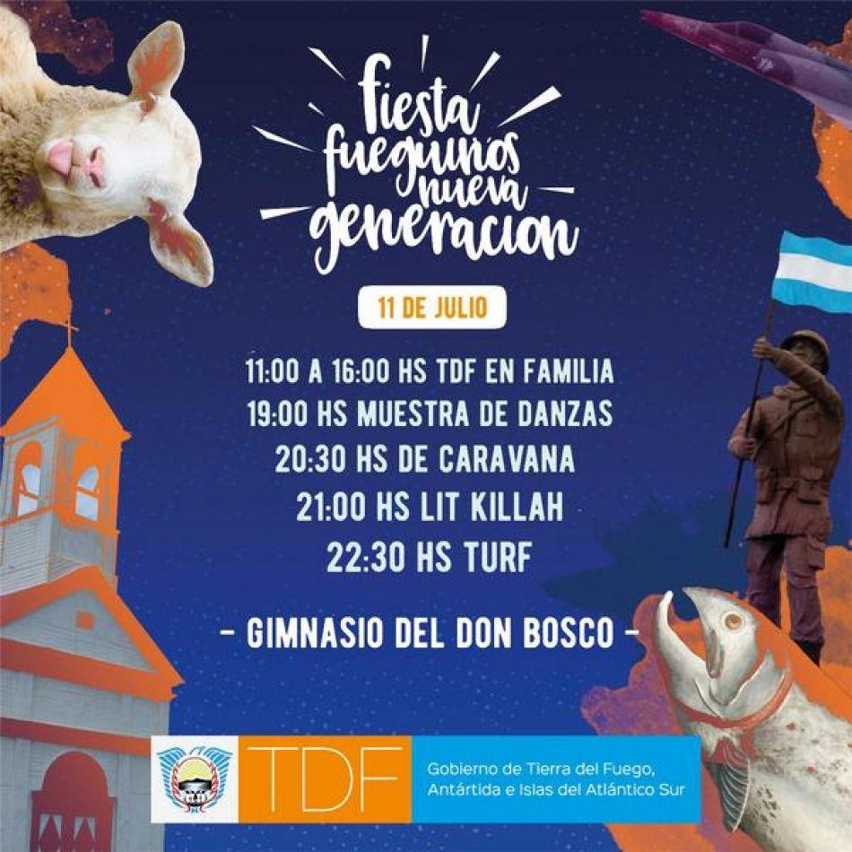 Festejos provinciales por el 97° aniversario d ela ciudad de Río Grande