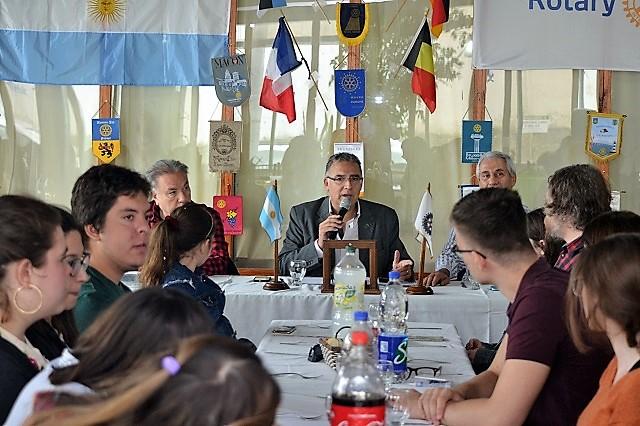 Primer almuerzo de camaradería del Rotary Club Río Grande