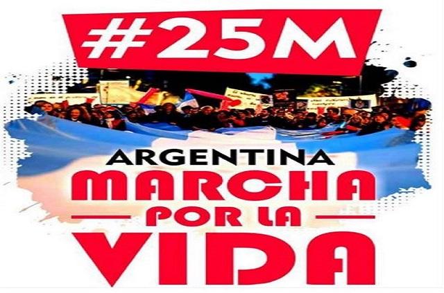 Será el 25 de marzo: Convocan a una Marcha por la Vida