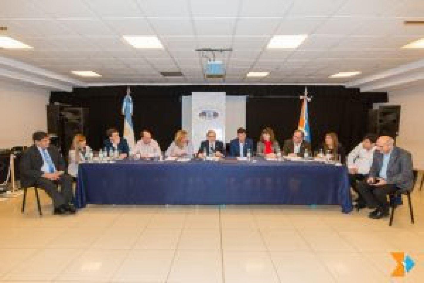 Parlamentarios analizaron la Comisión 1 con Argüello