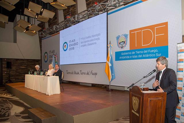 Dio inicio al 1° Foro Italo-argentino denominado IT-AR Enabio