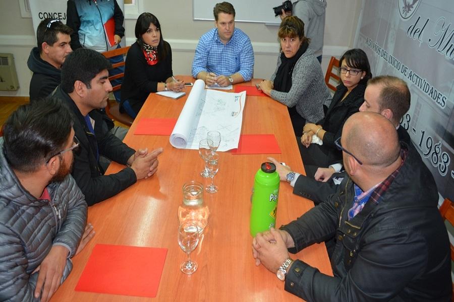 Concejales recibieron a la Asociación de Tiro Deportivo de Tierra Del Fuego