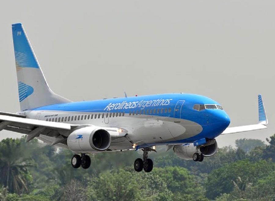 Aerolíneas Argentinas suspende la venta de pasajes hasta el domingo