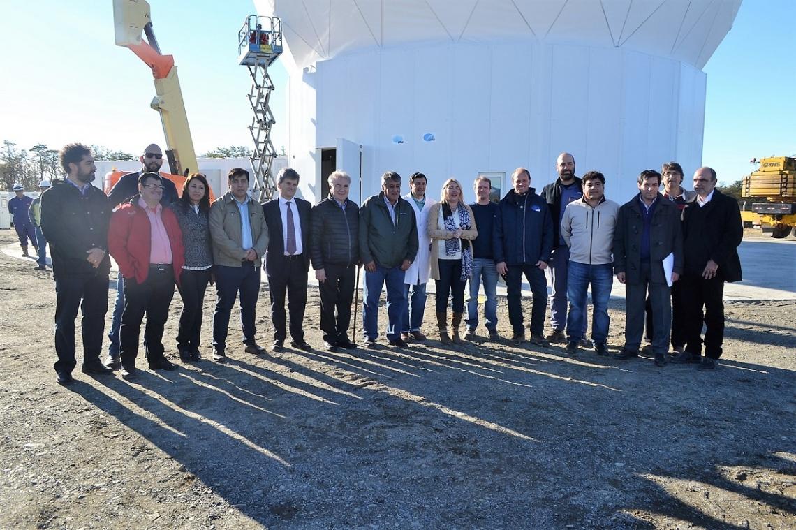 La Estación Terrena de Tierra del Fuego, en su etapa final