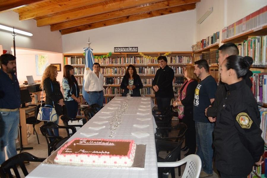 """Nogar participó del 15 Aniversario de la Biblioteca Popular """"Leonor María Piñero"""""""