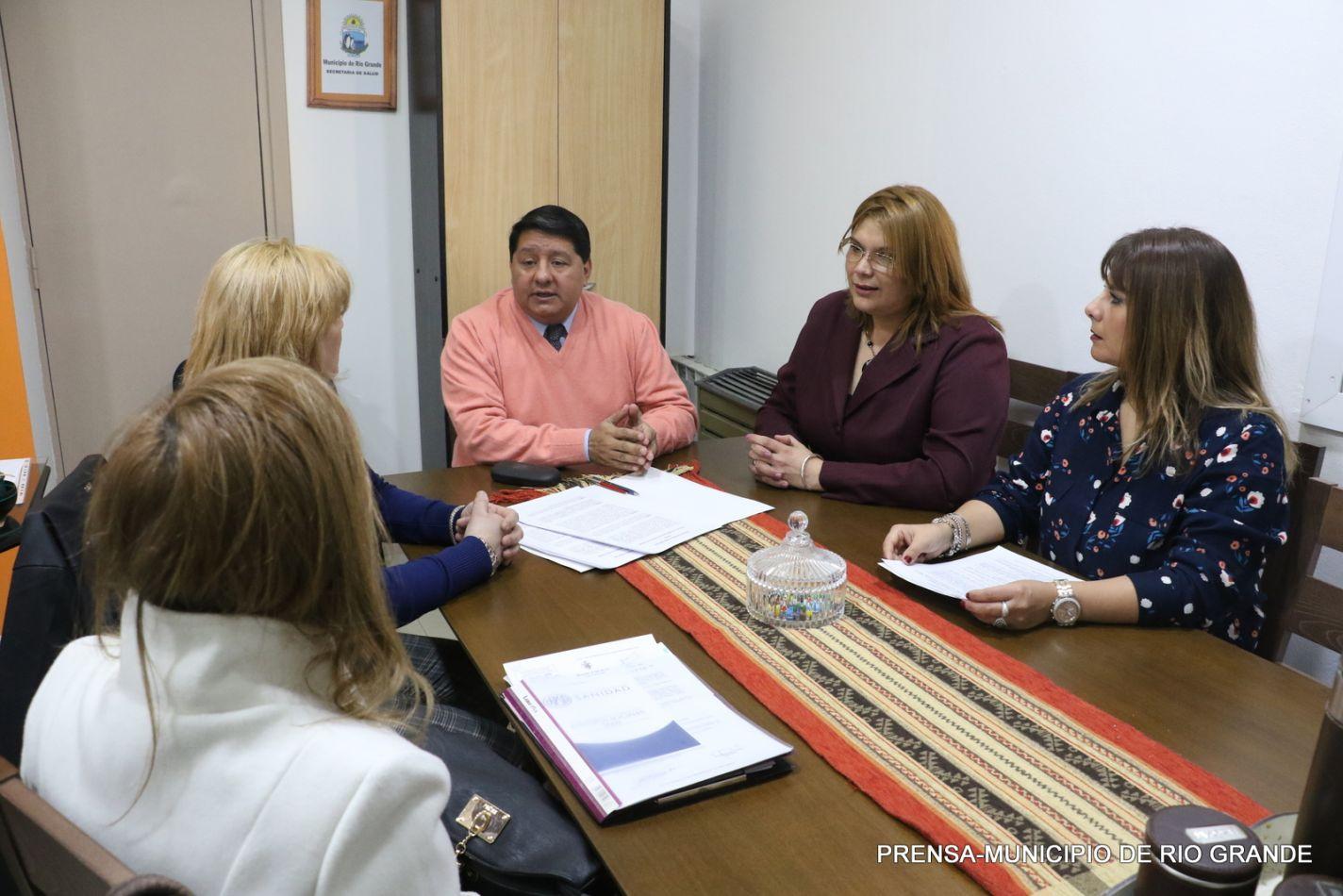 Municipio firmó convenio de prestaciones médicas para aflidados de O.S.P.S.A