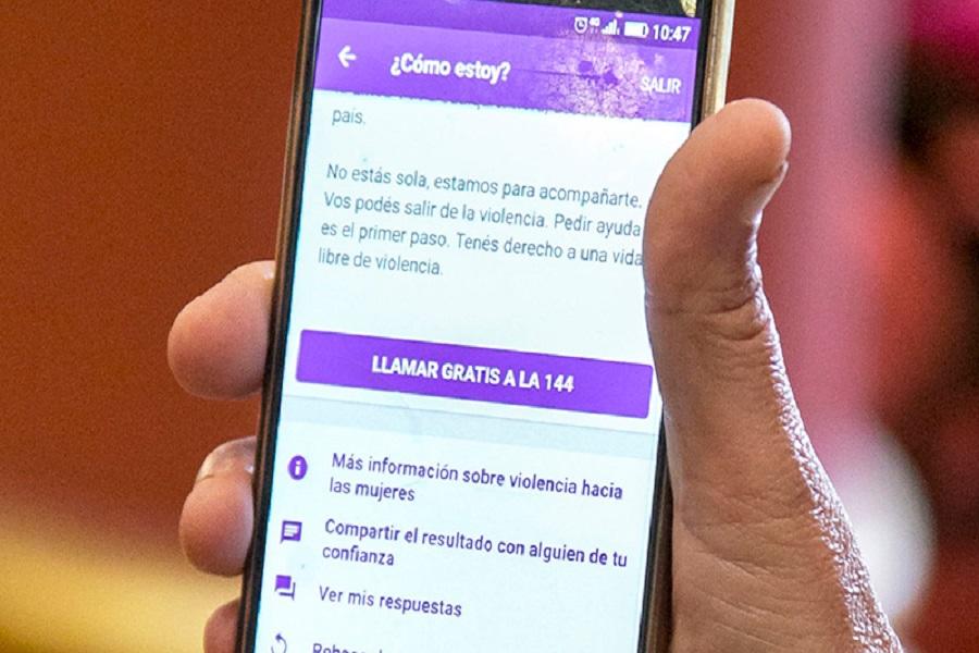 Lanzaron la app 144, para víctimas de violencia de género