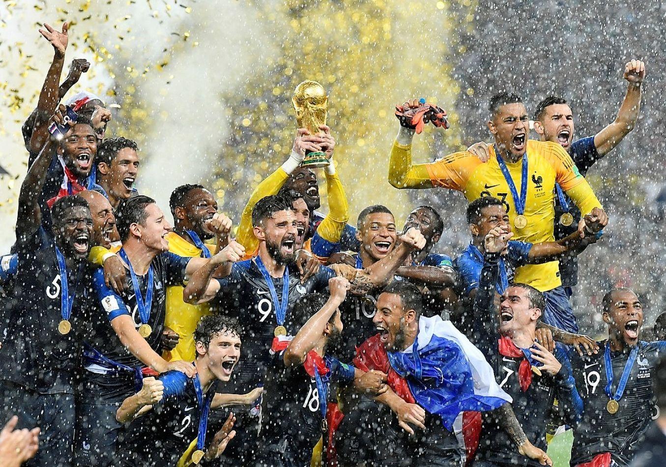 La seleccion francesa es campeona mundial de fútbol.