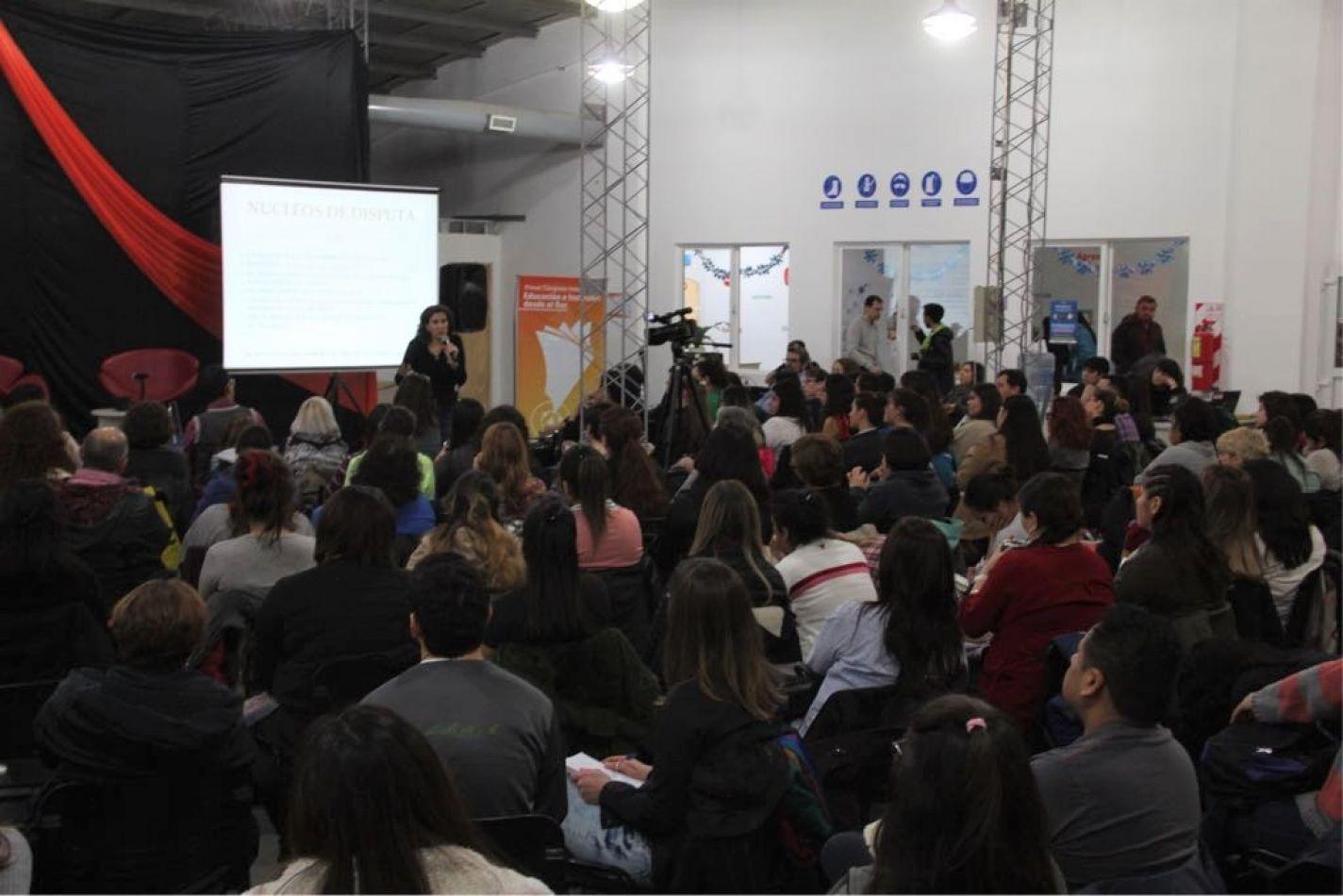 Inscriptos para el 1° Congreso Internacional Educación e Inclusión desde el Sur