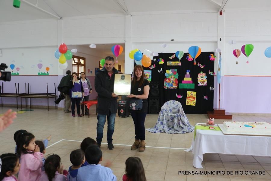 El Municipio acompañó el 30° Aniversario del Jardín de Infantes N°6