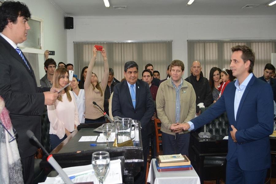Juraron los nuevos vocales del Tribunal de Cuetas Municipal