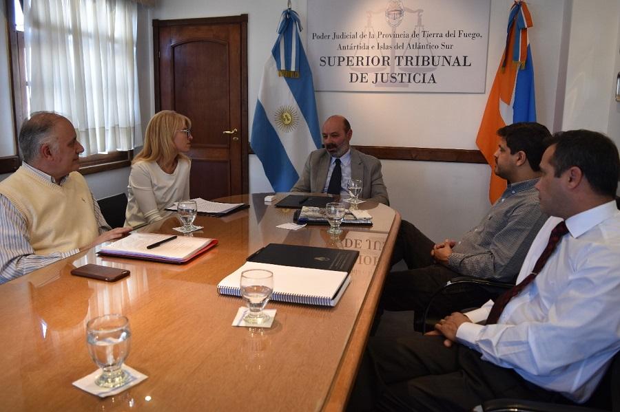 Se reunió la Comisión de Reforma del CPP de Tierra del Fuego