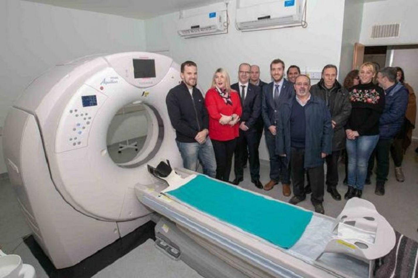 Nuevo tomógrafo para el hospital de Ushuaia.