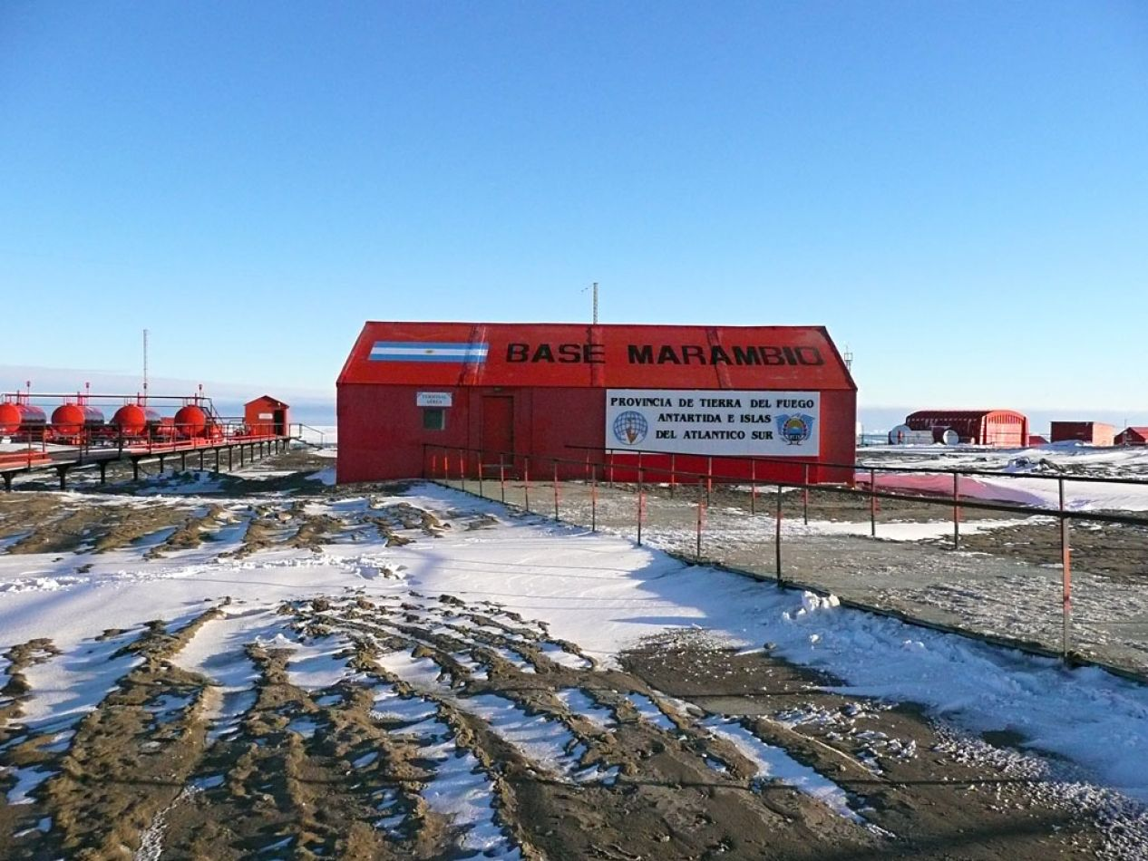Enviaron dosis de vitamina D hacia la Antártida