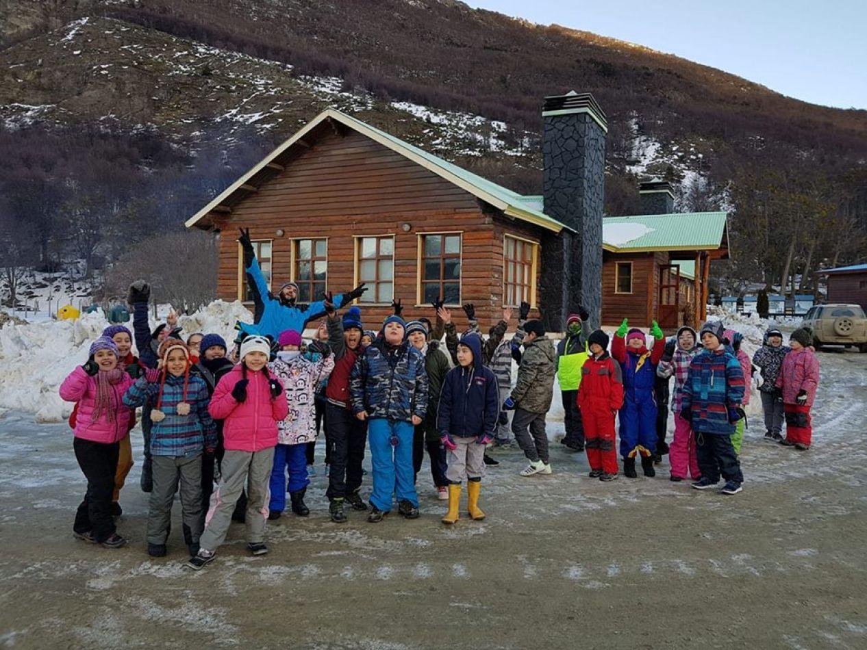 Campamento de invierno en Ushuaia