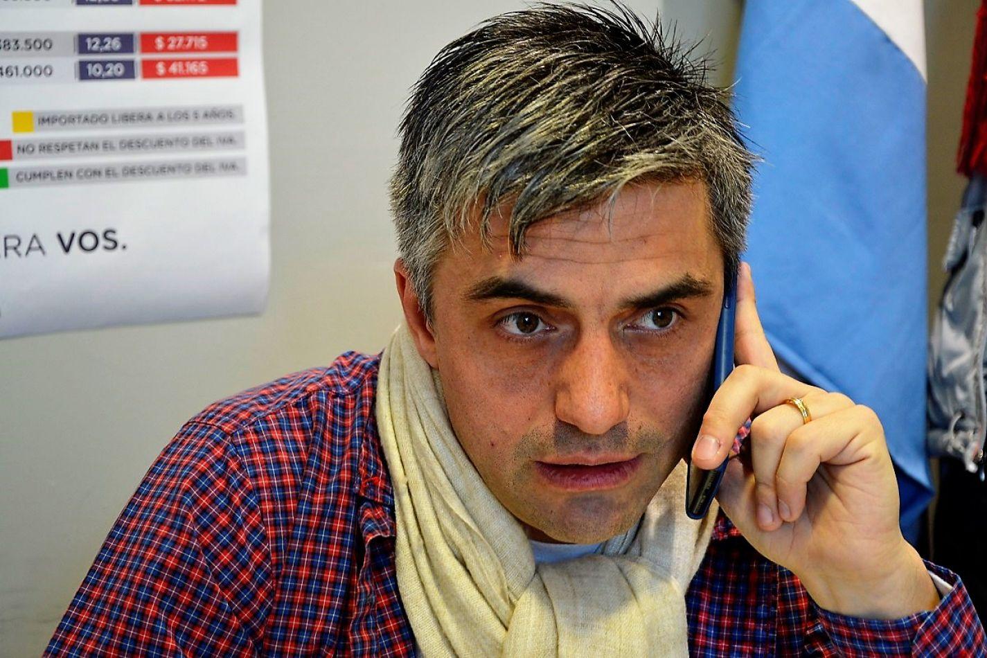 Paulino Rossi insistirá con su proyecto amplio, relacionado al antidoping a funcionarios y electos.