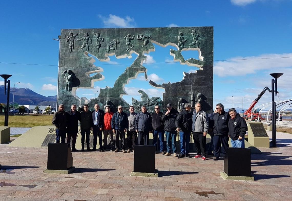Veteranos de guerra de todo el país llegan a Tierra del Fuego