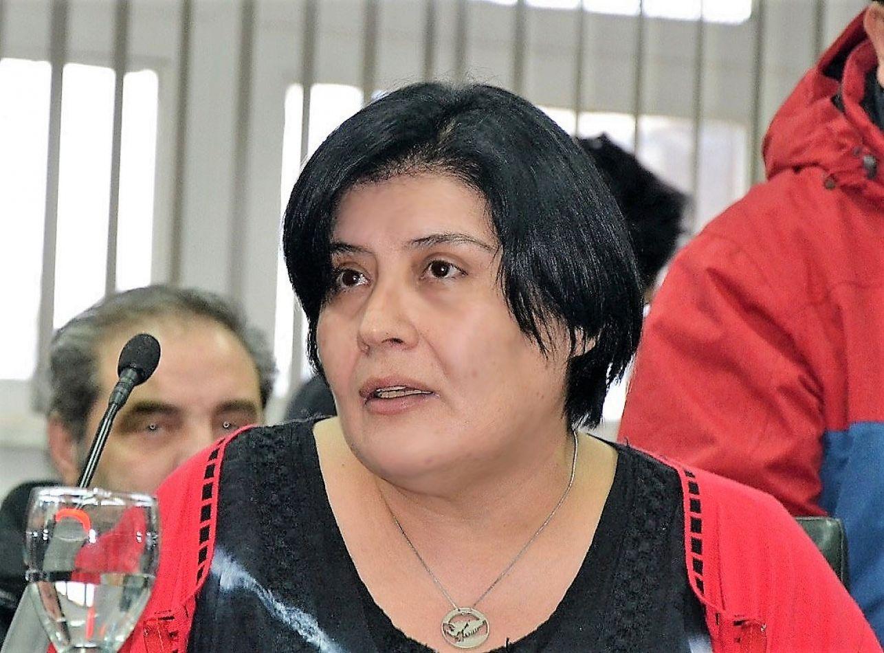 Miriam Laly Mora, la concejal que enfrenta al Gobierno.