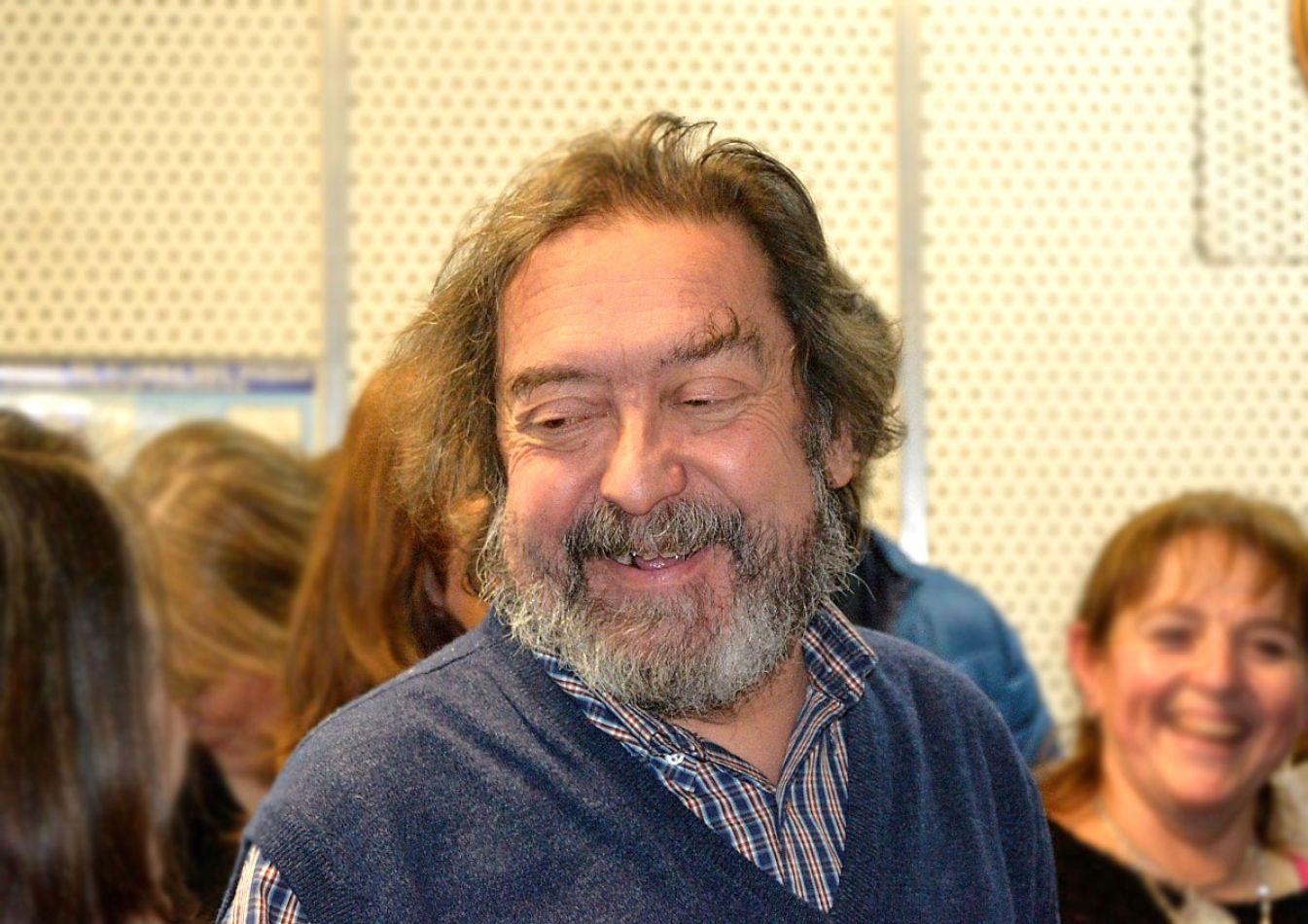 Mingo Gutiérrez fue agasajado al acceder a su jubilación.