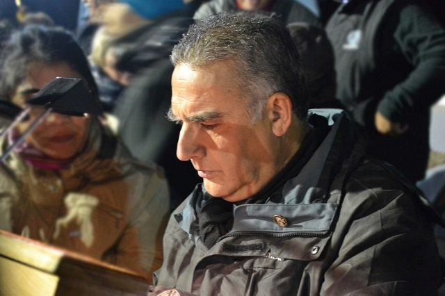 Miguel Vázquez cumplió 22 años como locutor oficial de La Vigilia