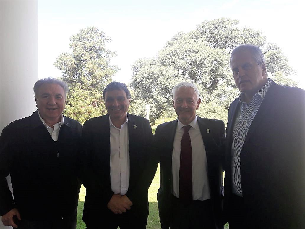 El Rector UTN, Ing. Héctor Aiassa y Rector U.N. de Córdoba Dr. Hugo Juri actual Presidente de Consej