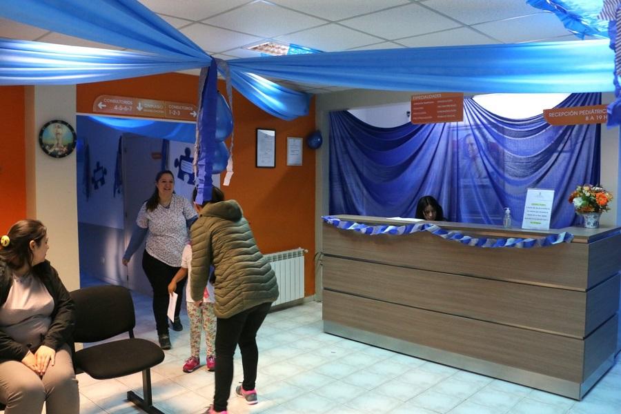 El Centro Mamá Margarita se viste de azul para concientizar sobre el Autismo