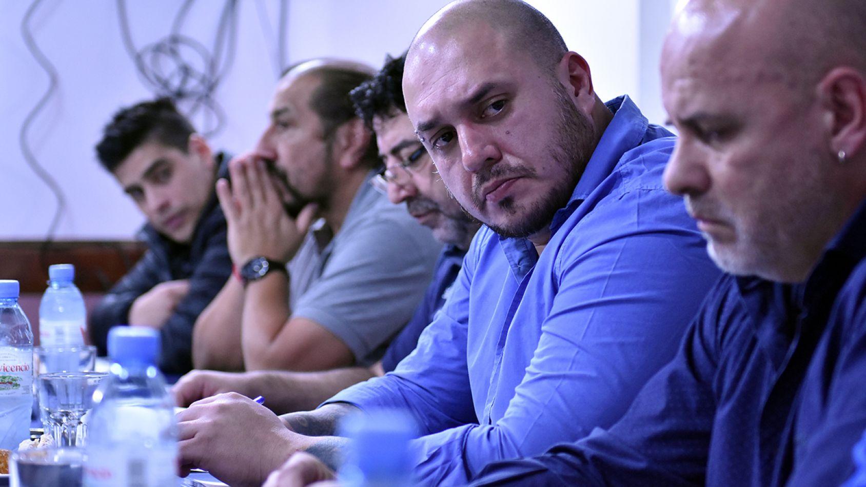 Reunión de la Multisectorial 21F en Río Grande