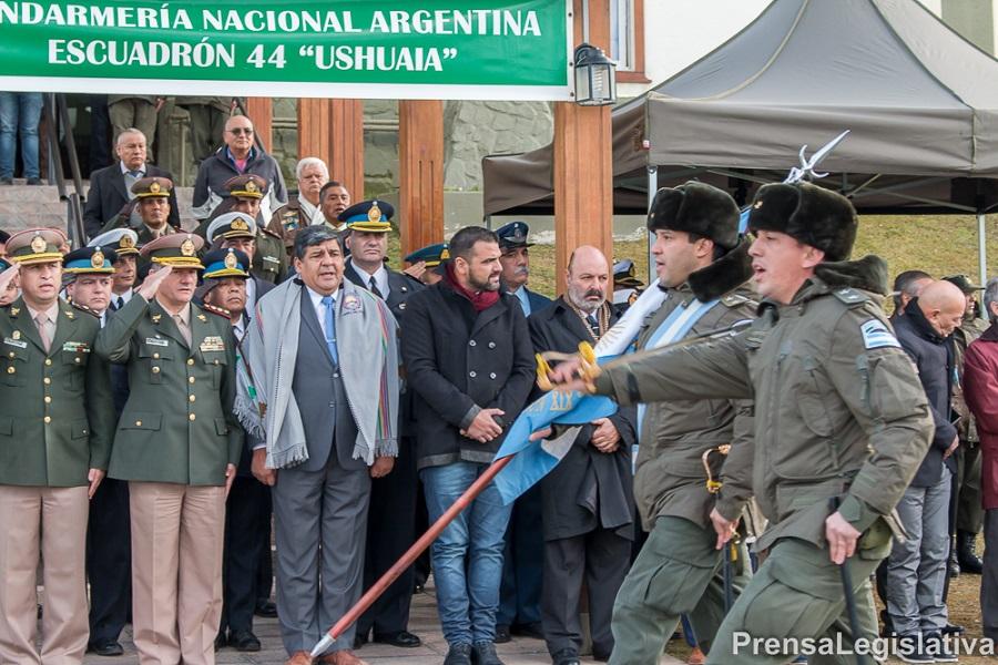 El Parlamento acompañó a Gendarmería en su aniversario