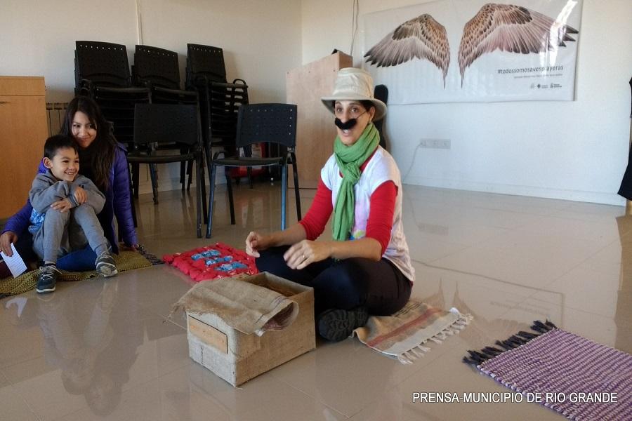 Se realizó talleres sobre naturaleza costera para niños en el Centro de Interpretación de Aves