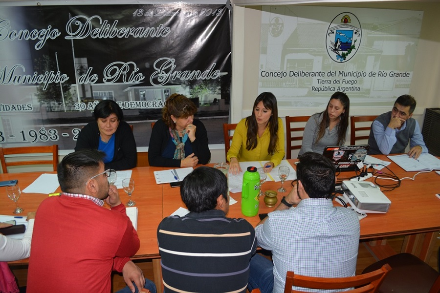 "Buscan dictamen para el programa municipal ""Empleo Verde"""