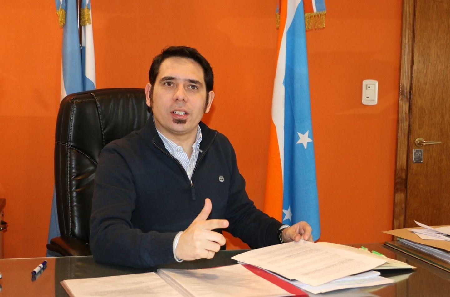Secretario de Participación y Gestión Ciudadana, Dr. Federico Runín