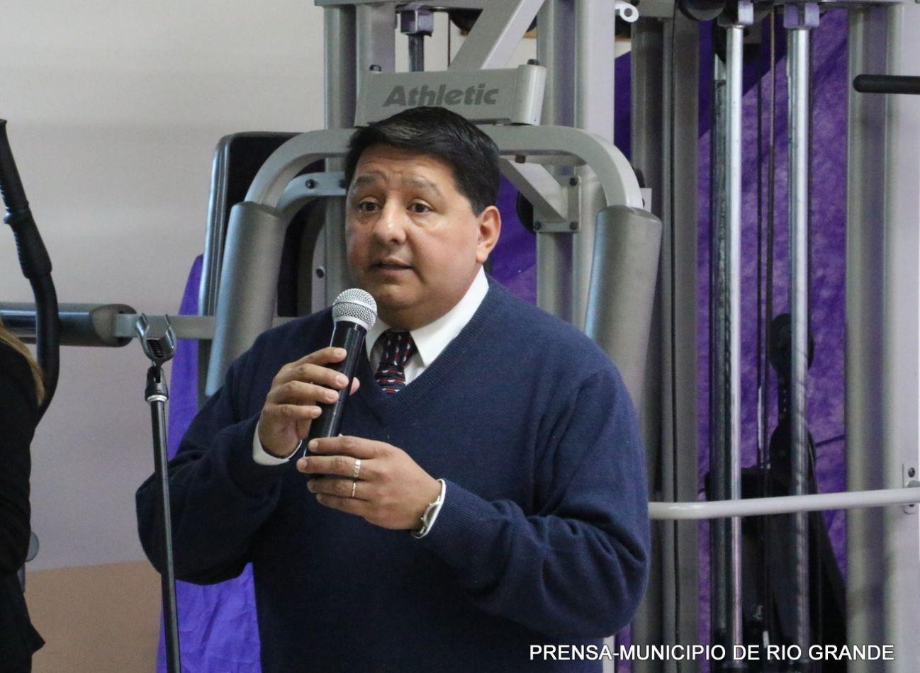 Secretario de Salud del Municipio, Dr. Walter Abregú